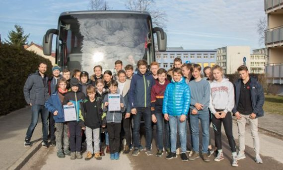 Die Sieger der Stützpunktwertung vor der Heimfahrt - Foto: S. Wolff
